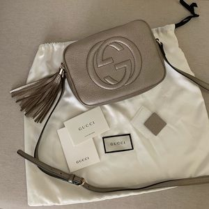 Nwt Gucci Soho Disco Bag